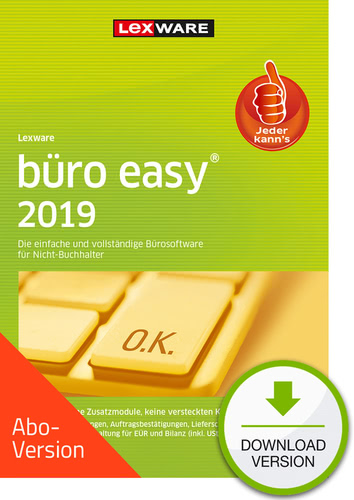büro easy 2019 Download – Abo Version (Download), PC