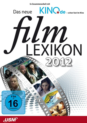 Verpackung von Das neue Filmlexikon 2012 [PC-Software]