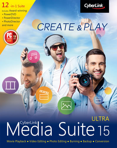 Packaging by CyberLink Media Suite 15 Ultra [PC-software]