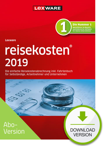 Verpackung von Lexware reisekosten 2019 Download - Abo Version [PC-Software]