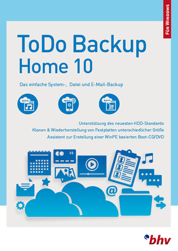 Verpackung von EaseUS ToDo Backup Home 10 [PC-Software]
