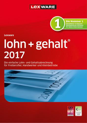 Lexware lohn+gehalt 2017 Jahresversion (365-Tage)