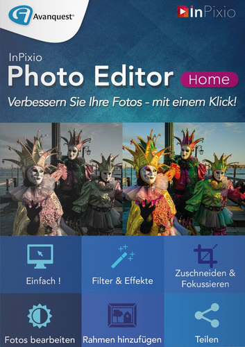 InPixio Photo Editor Home (Download), PC