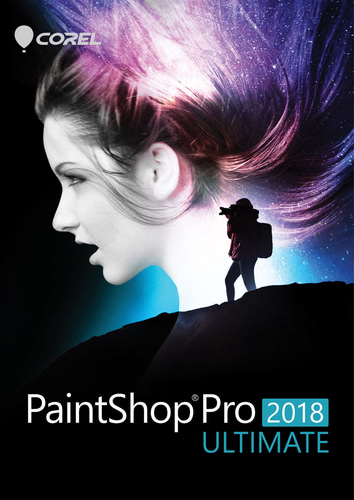 Packaging by PaintShop Pro 2018 Ultimate [PC-software]