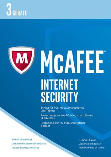 McAfee Internet Security 2017 3 Geräte / 12 Mon...