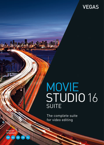 Verpackung von Vegas Movie Studio 16 Suite [PC-Software]
