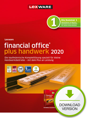 Lexware Financial Office 2020 Plus Handwerk Jahresversion 365 Tage