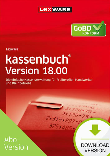 kassenbuch 18.00 (2019) Download – Abo Version (Download), PC