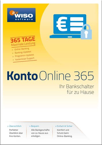 WISO Konto Online 365 Tage (Version 2017), Box ...