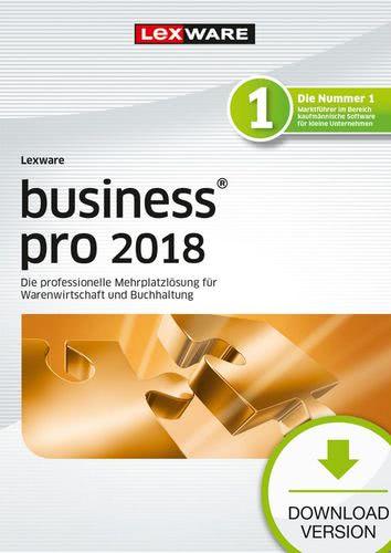 Verpackung von Lexware business pro 2018 Download Jahresversion (365-Tage) [PC-Software]