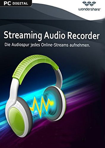 Wondershare Streaming Audio Recorder - lebenslange Lizenz, ESD (Download) (PC)