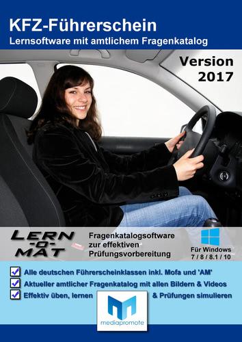 Lern-o-Mat KFZ-Führerschein 2017 (Download), PC