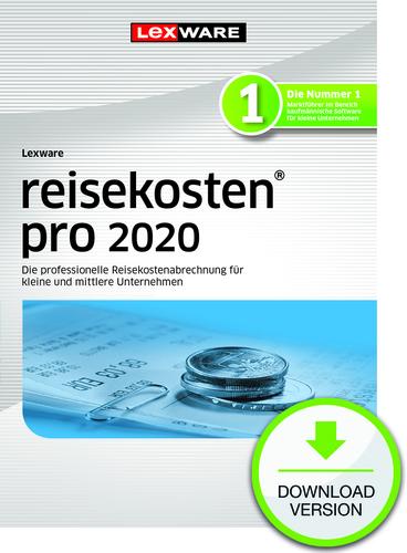 Lexware reisekosten 2020 pro – Jahresversion (365-Tage) (Download), PC