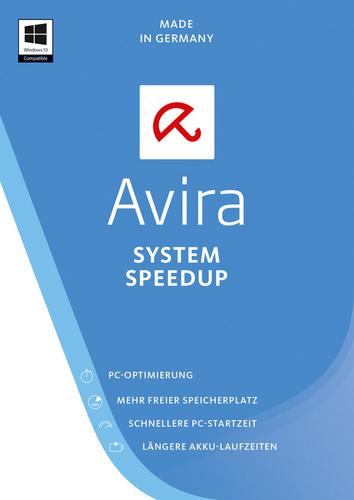 Verpackung von Avira System Speedup 2017 - 1 Gerät / 12 Monate [PC-Software]