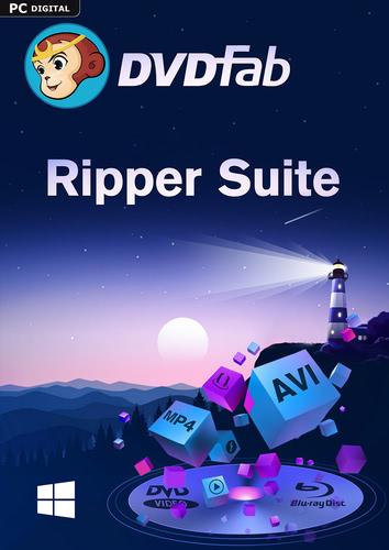 Verpackung von DVDFab Ripper Suite (DVD Ripper & Blu-ray Ripper) (24 Monate) [PC-Software]