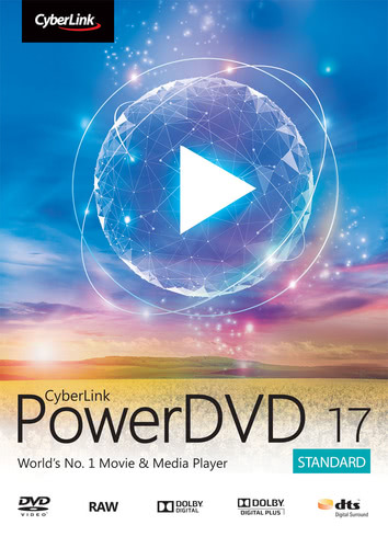 Packaging by CyberLink PowerDVD 17 [PC-software]