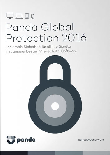 Verpackung von Global Protection 2016 - 3 User / 12 Monate [PC-Software]
