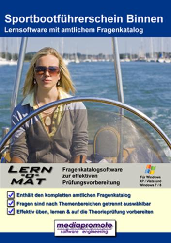 Verpackung von Lern-O-Mat Sportbootführerschein Binnen [PC-Software]