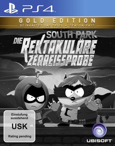Verpackung von South Park: Die rektakuläre Zerreißprobe Gold Edition [PS4]