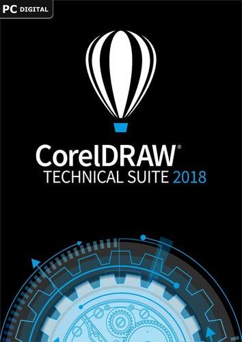 Verpackung von CorelDRAW Technical Suite 2018 [PC-Software]