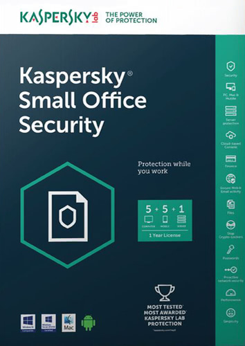 Verpackung von Kaspersky Small Office Security [PC-Software]