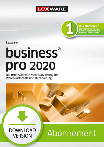 Lexware business pro 2020 – Abo-Version (Download), PC