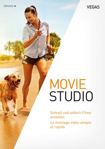 Verpackung von VEGAS Movie Studio 14 [PC-Software]