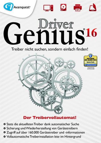 Verpackung von Driver Genius 16 [PC-Software]
