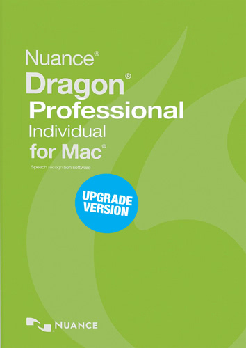 Packaging by Nuance Dragon Professional Individual 6.0 for Mac - Upgrade from Dragon for Mac 4.0 and 5.0 [Mac-software]