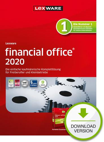 Verpackung von Lexware financial office 2020 - Jahresversion (365-Tage) [PC-Software]