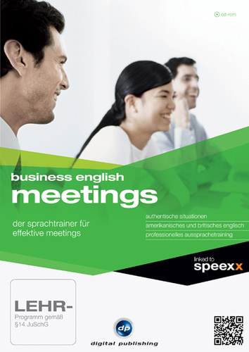 Verpackung von Business English Meetings [PC-Software]
