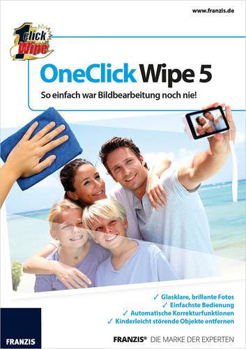 Verpackung von OneClick Wipe 5 [PC-Software]