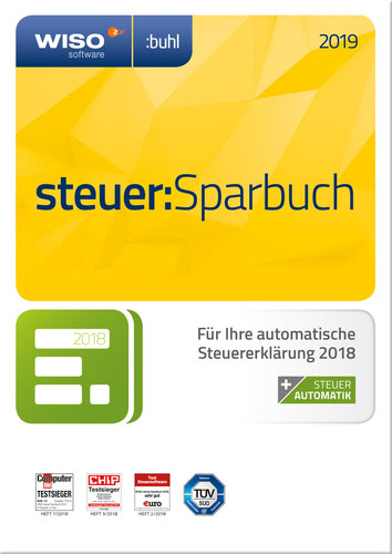 WISO Steuer:Sparbuch 2019, (Box), PC