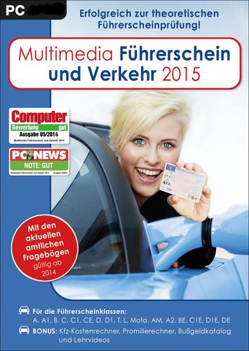 Verpackung von Multimedia Führerschein & Verkehr 2015 [PC-Software]