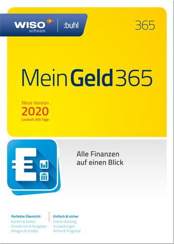 Verpackung von WISO Mein Geld 365 (2020) Jahresversion [PC-Software]