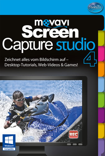 Verpackung von Movavi Screen Capture Studio 4 [PC-Software]