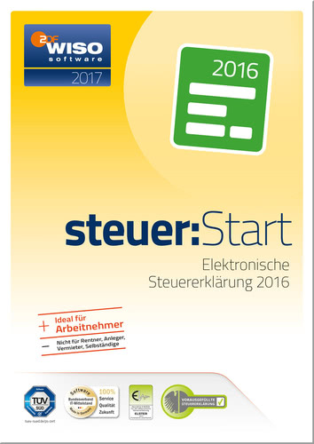 WISO steuer:Start 2017, ESD (Download) (PC)