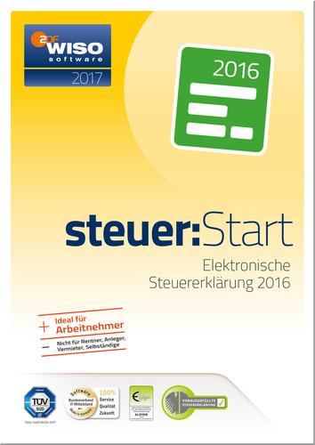 Verpackung von WISO steuer:Start 2017 [PC-Software]