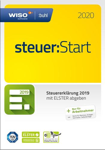 Verpackung von WISO steuer:Start 2020 (für Steuerjahr 2019) [PC-Software]