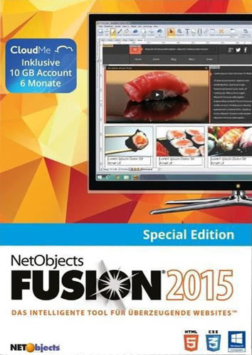Verpackung von NetObjects Fusion 15 Special Edition [PC-Software]