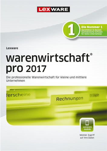 Verpackung von Lexware warenwirtschaft pro 2017 Jahresversion (365-Tage) [PC-Software]