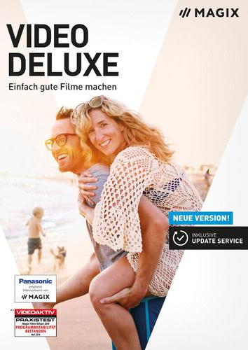 Verpackung von Magix Video Deluxe 2019 [PC-Software]