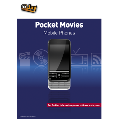 Verpackung von eJay Pocket Movies für Mobile Phones [PC-Software]