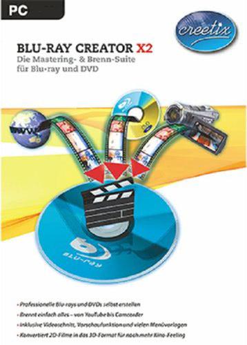 Verpackung von Creetix Blu-ray Creator X2 [PC-Software]