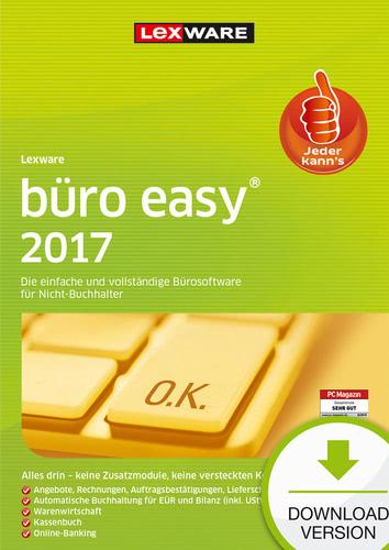 Lexware büro easy 2017 Jahresversion (365-Tage)...