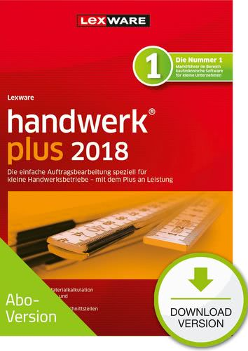 Verpackung von Lexware handwerk plus 2018 Download - Abo Version [PC-Software]