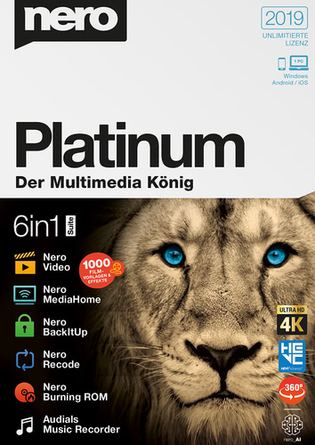 Nero Platinum 2019, (Box), PC
