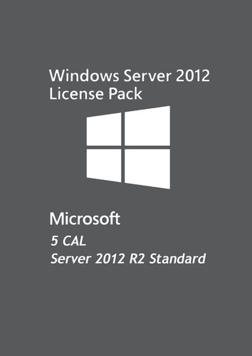Verpackung von Microsoft Windows Server Standard 2012 R2 5 CAL 64Bit EDU [PC-Software]