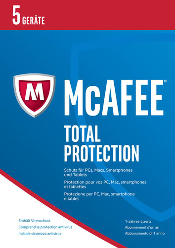McAfee Total Protection 2017 5 Geräte / 12 Mona...