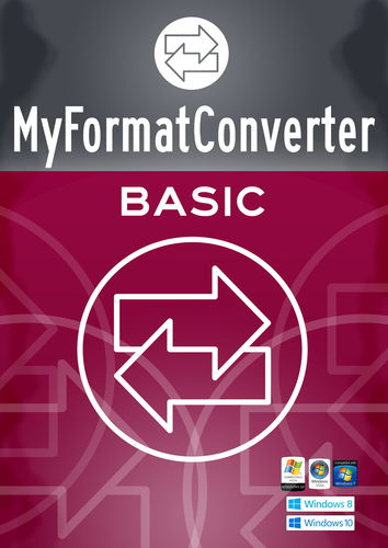 Packaging by MyFormatConverter Basic [PC-software]